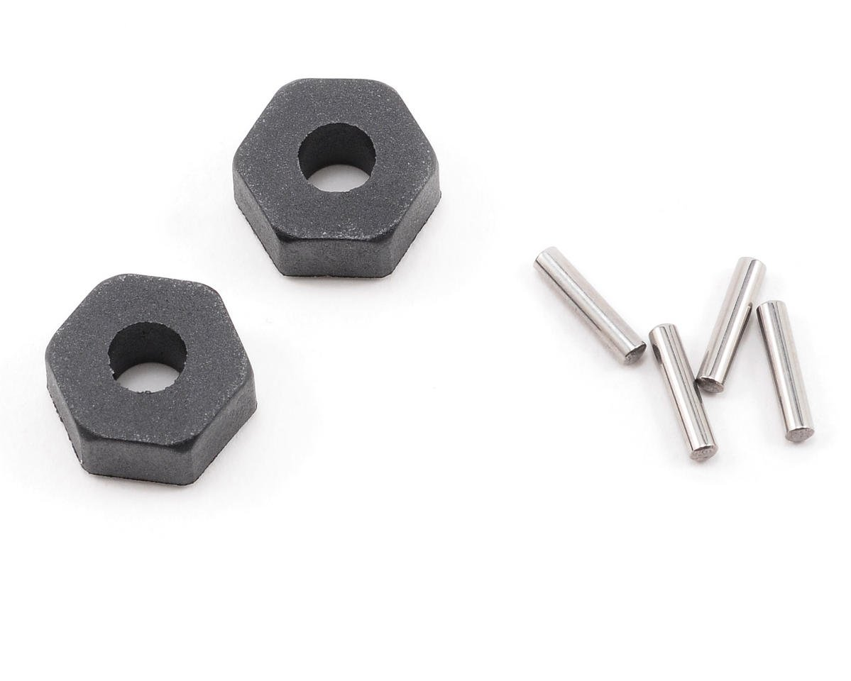 Traxxas Nitro Rustler 12mm Hex Stub Axle Pin & Collar Set