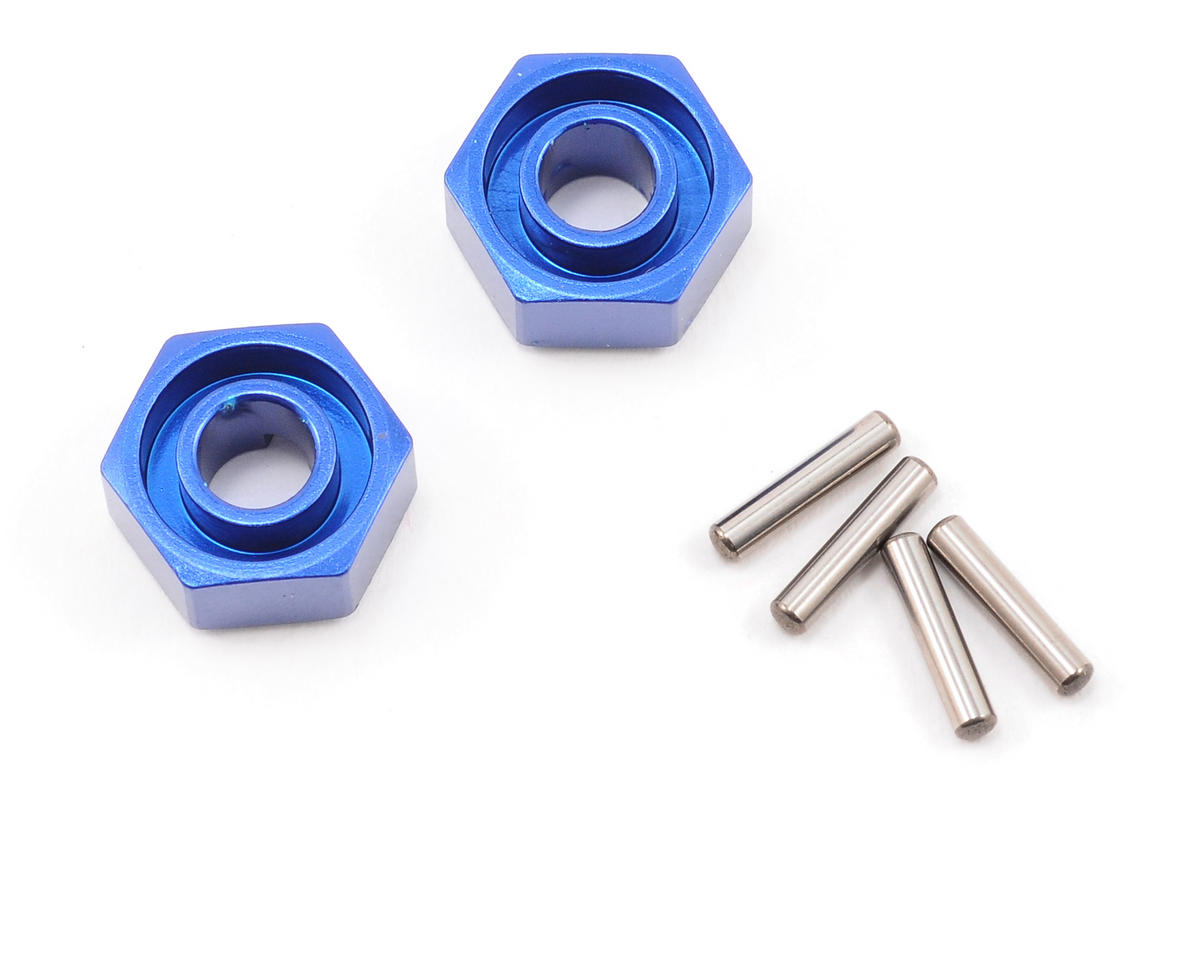 Traxxas Jato 12mm Hex Aluminum Wheel Hub (Blue)