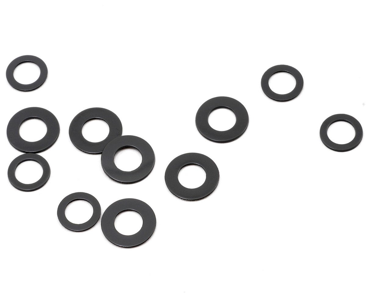 Large & Small Fiber Washer Set (12) by Traxxas