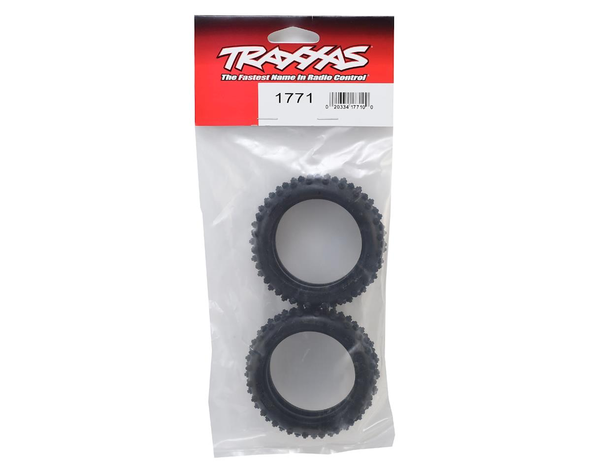 "Traxxas Spike 2.1"" 1/10 2WD Front Buggy Tires (2) (Standard)"
