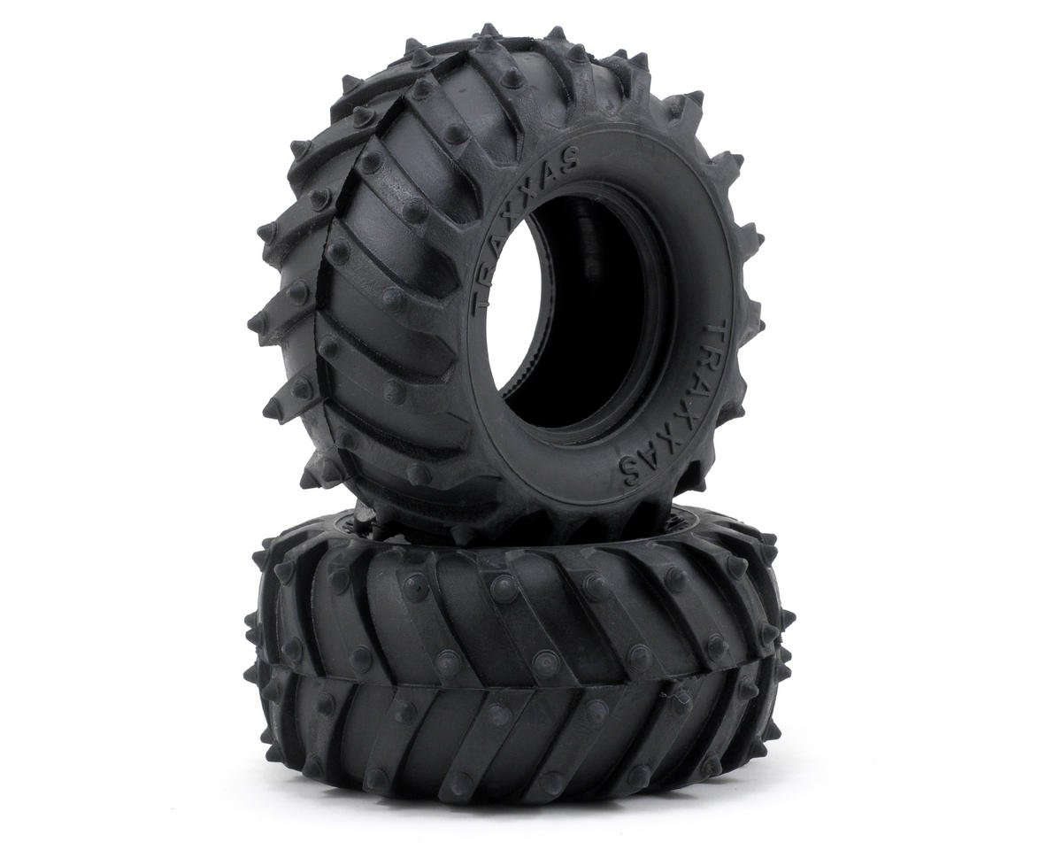 "Terra Spiked 2.2"" 1/10 Truck Tires (2) by Traxxas"