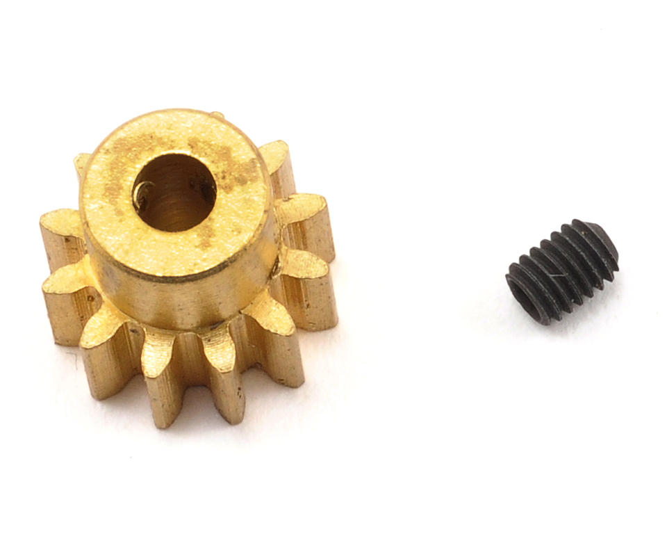 32P Brass Pinion Gear (12T) by Traxxas Villain EX