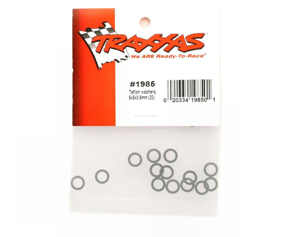 Traxxas 5x8x0.5mm Teflon Washers (20)