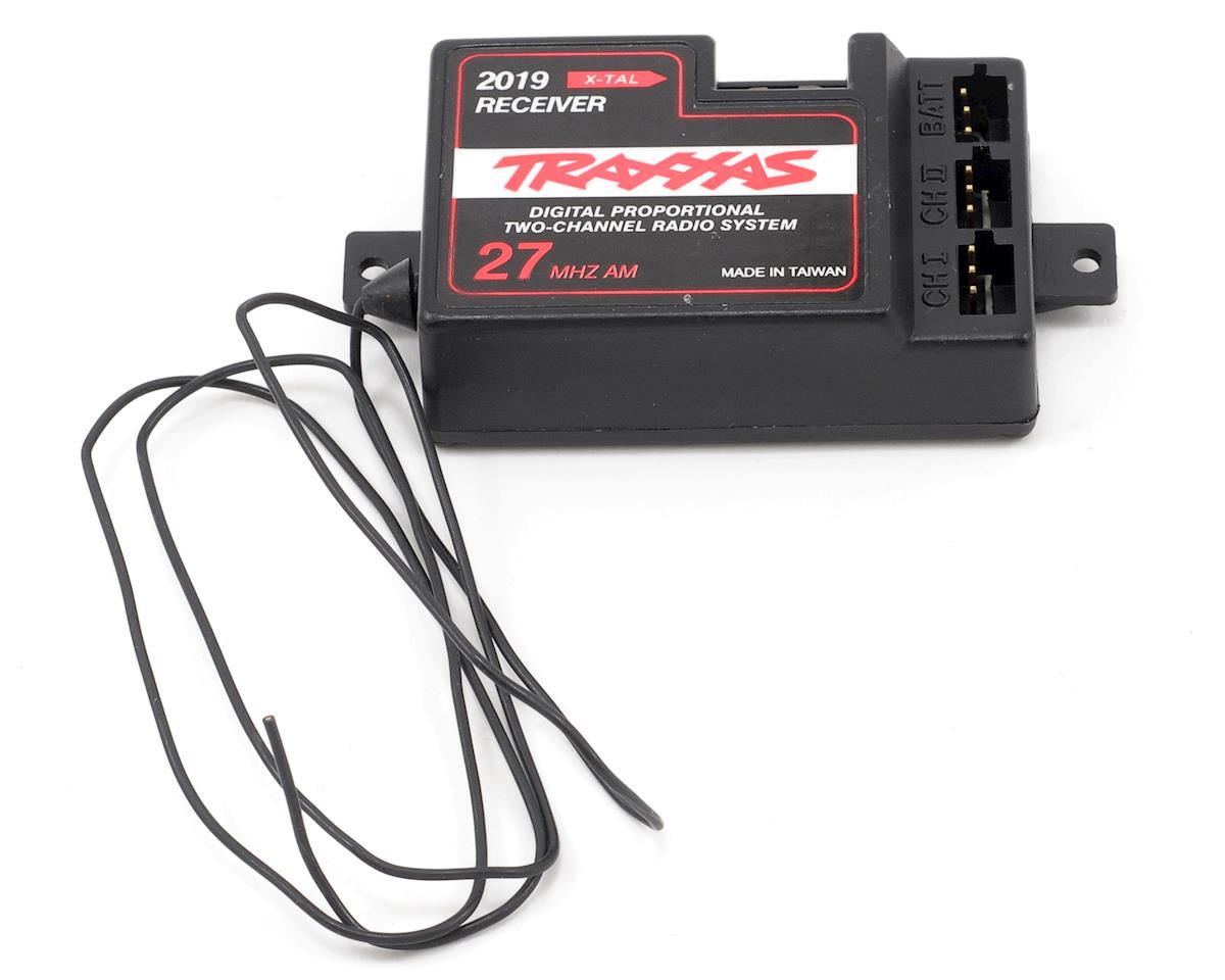 Traxxas Villain EX 27MHz 2-Channel AM Receiver (No BEC)