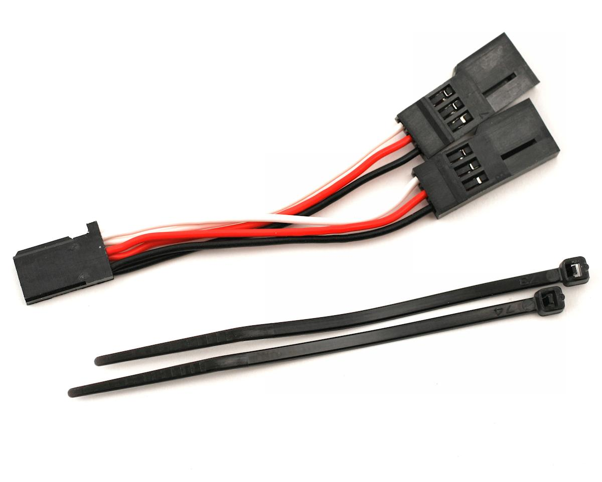 Servo connector, Y adapter (for dual-servo steering) by Traxxas