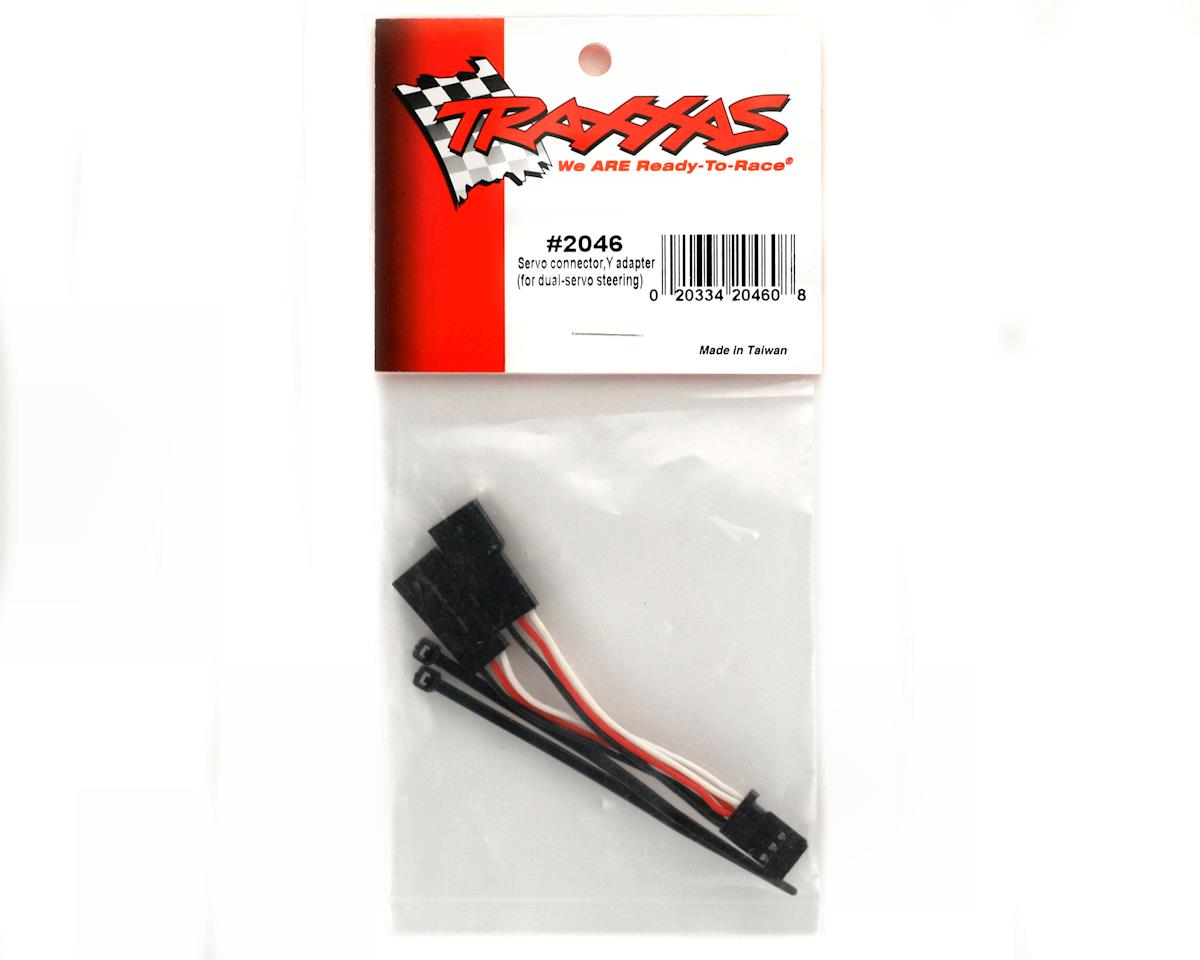 Traxxas Servo connector, Y adapter (for dual-servo steering)