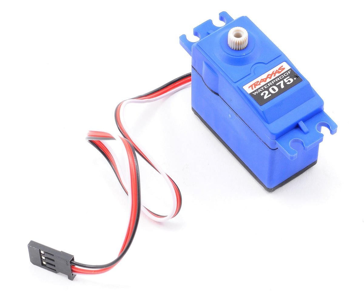 2075 Digital High Torque Waterproof Servo by Traxxas Villain EX