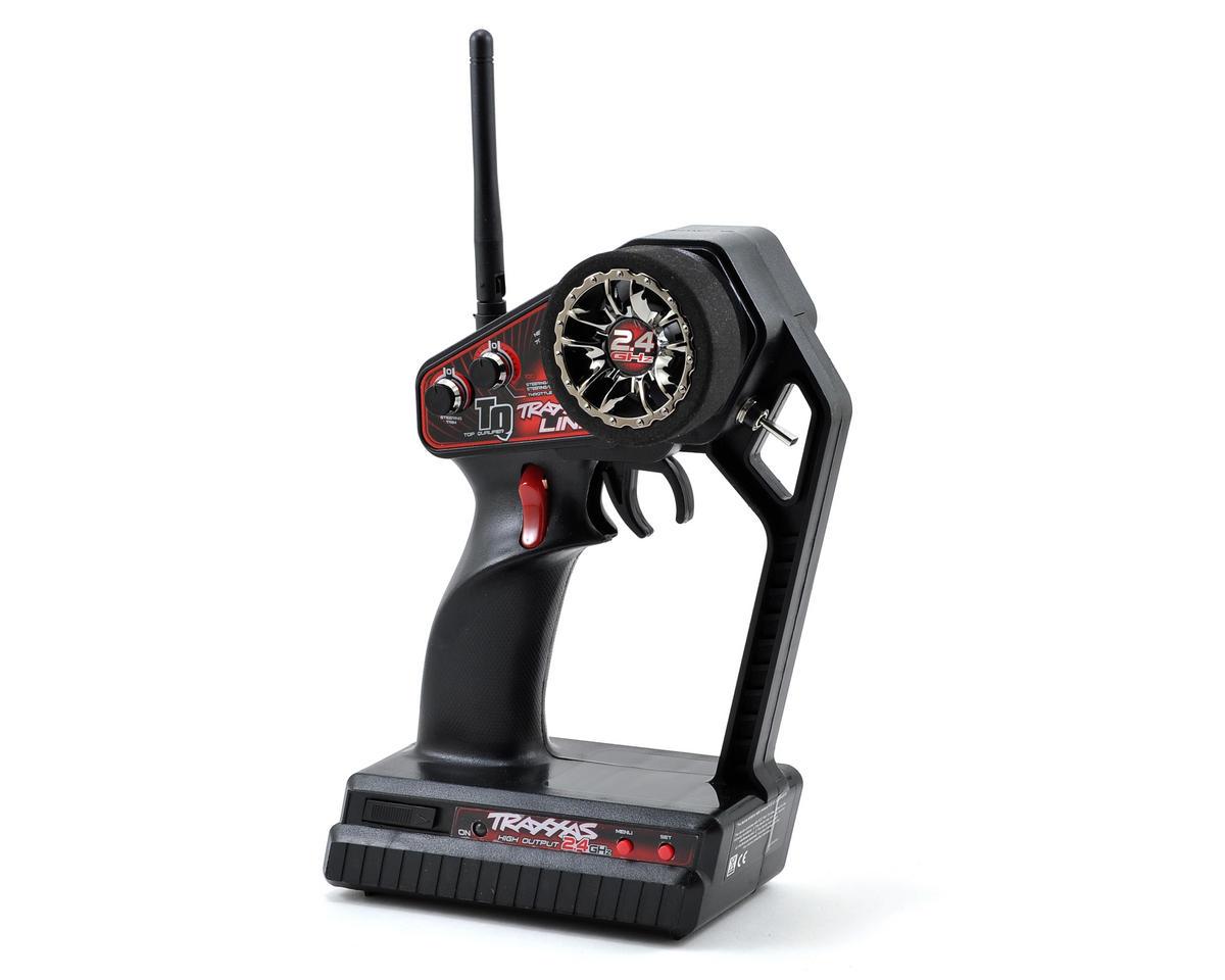 Traxxas TQ 2.4GHz 4-Channel Radio System w/Traxxas Link (5-CH RX, No Servos)