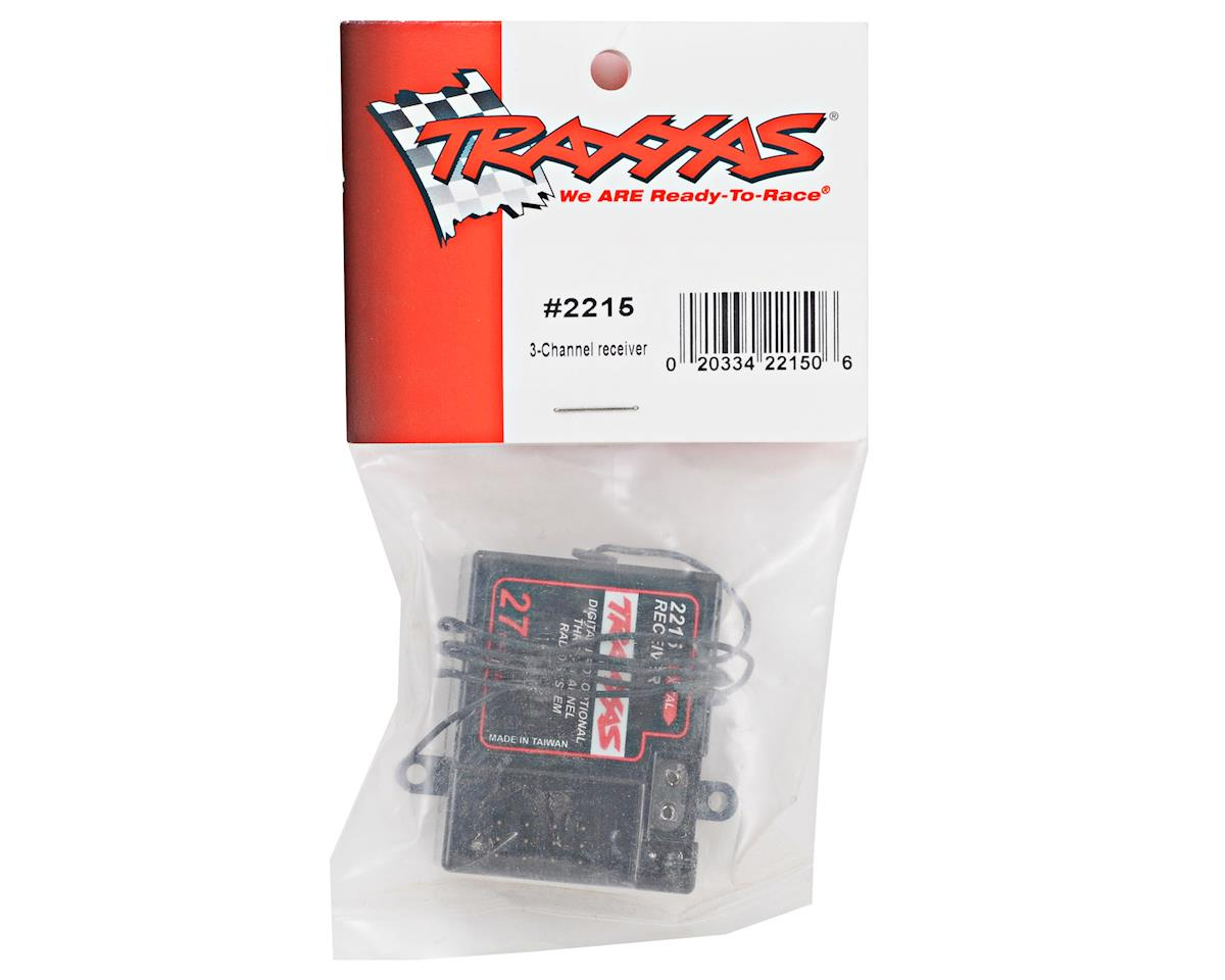 tra2215_1 27mhz 3 channel am receiver by traxxas [tra2215] cars & trucks Traxxas Slash at cos-gaming.co