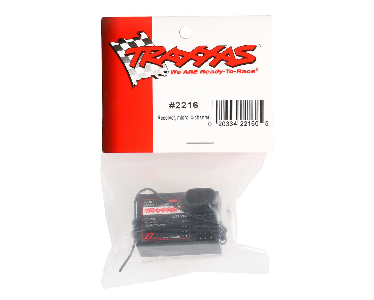 Traxxas Micro 4-Channel Receiver (27MHz)