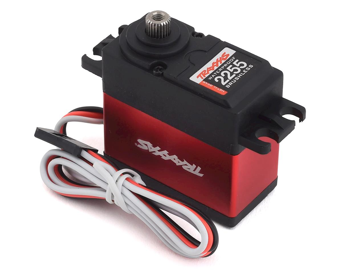 Traxxas 400 High Torque Metal Gear Waterproof Brushless Servo (Red)