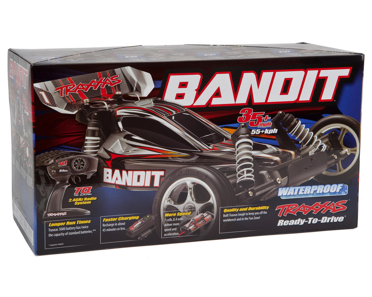 Traxxas Bandit 1/10 RTR Buggy (Black)