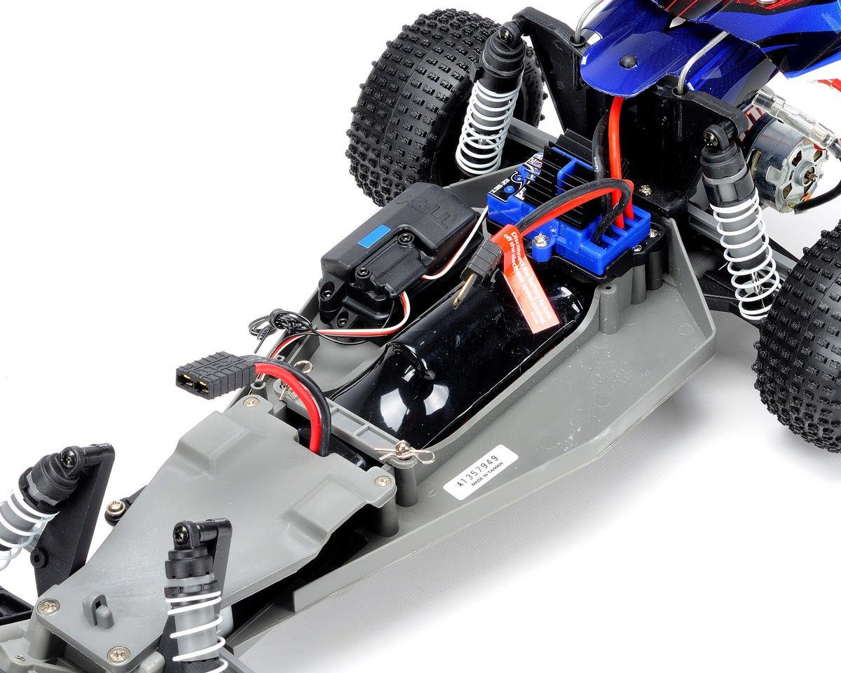 Traxxas Bandit 1/10 RTR Buggy (Red)
