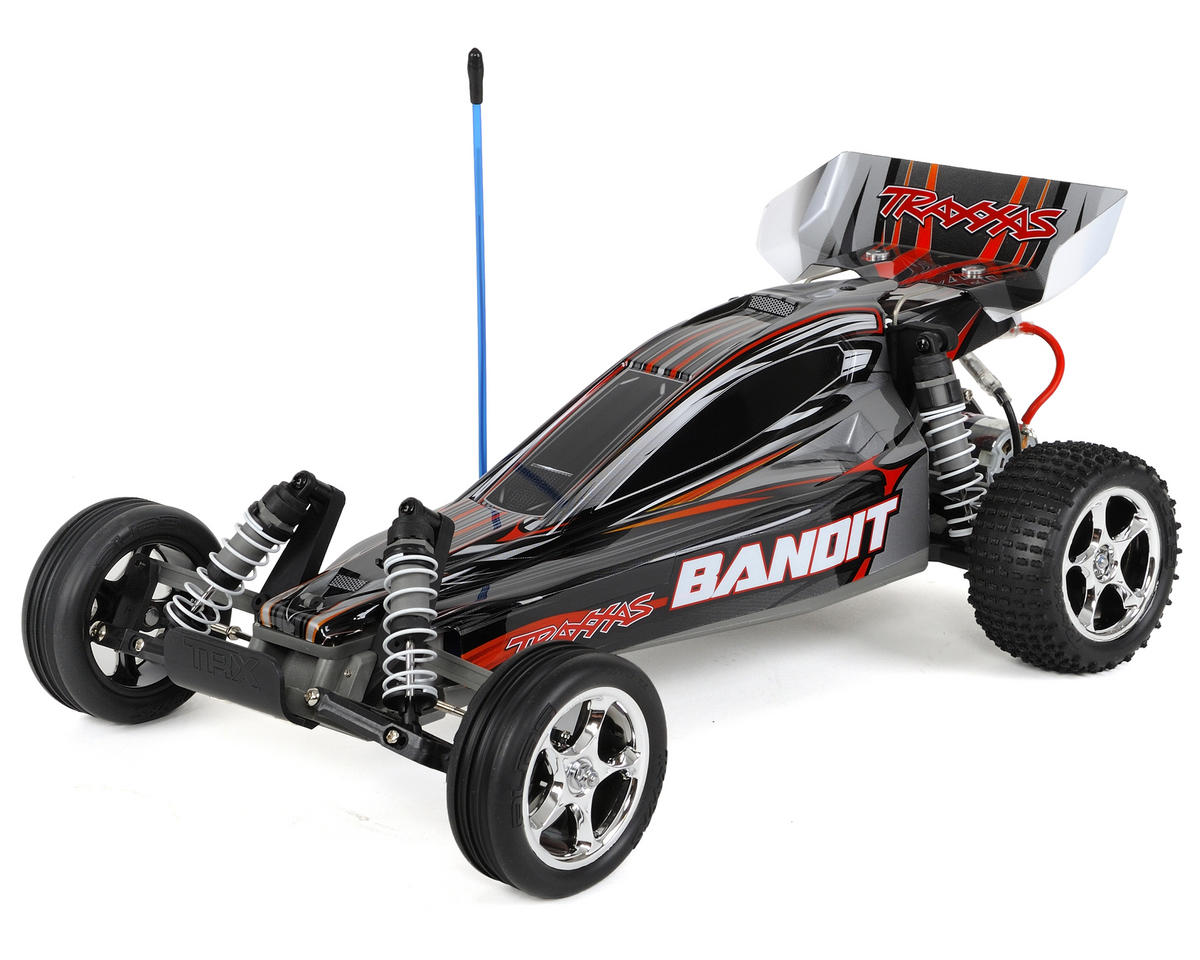 Traxxas Bandit 1/10 RTR Buggy (Silver)