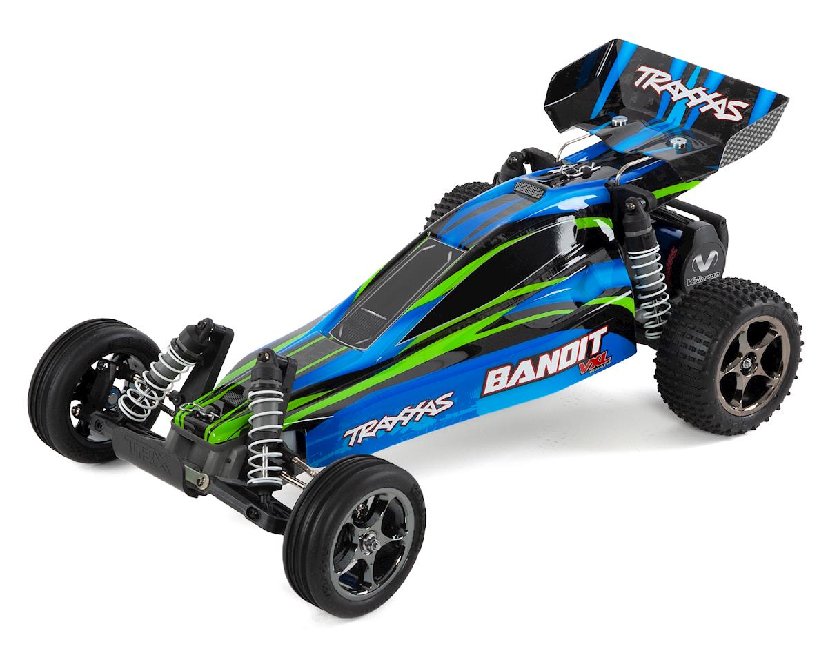 Traxxas Bandit VXL Brushless 1/10 RTR 2WD Buggy (Blue)