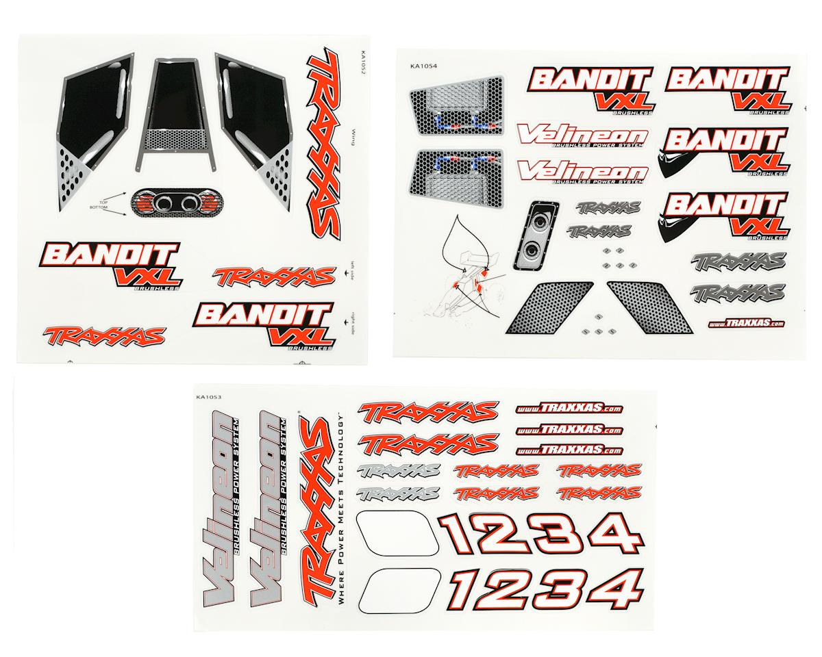Traxxas DECAL SHEETS BANDIT VXL