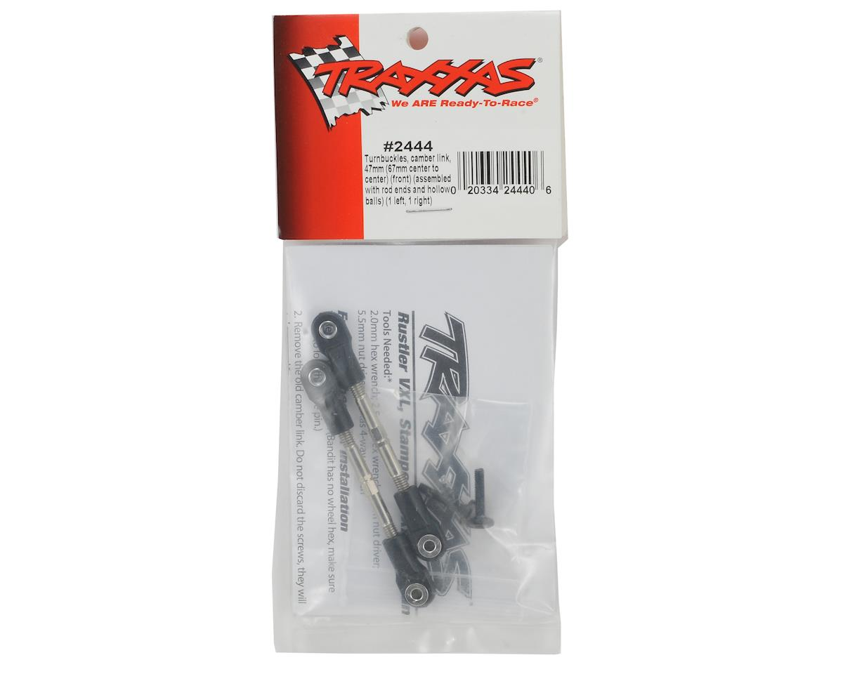 Traxxas 47mm Front Camber Link Turnbuckle Set (2)