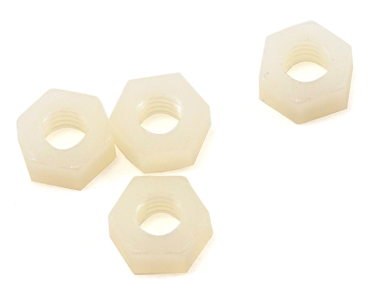 Traxxas 4mm Nylon Wheel Nut Set (4)