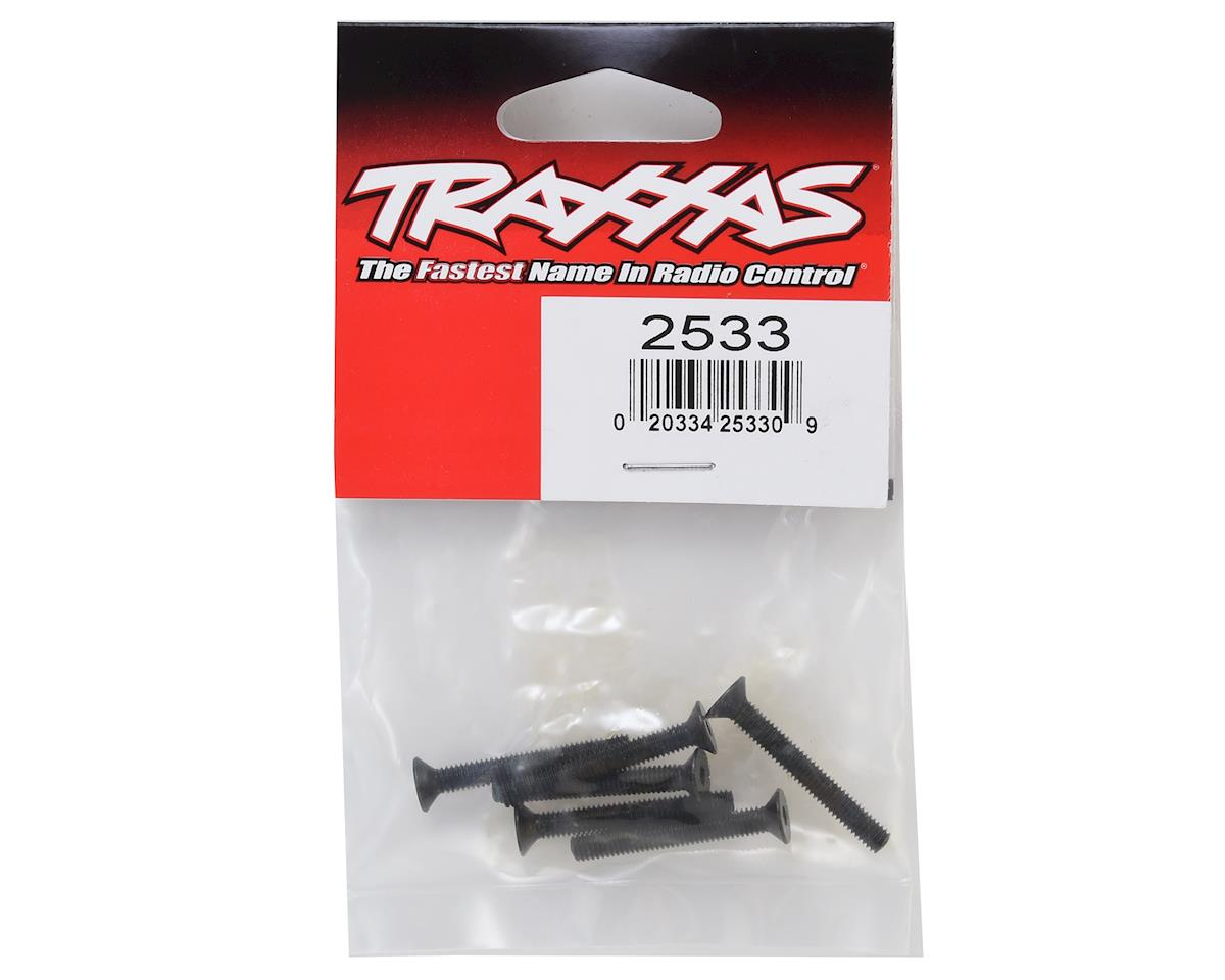 Traxxas 4x10mm Countersunk Flat Head Hex Screws (6)