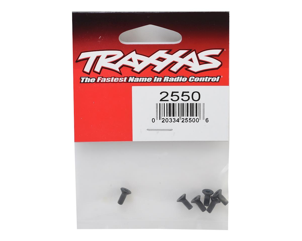 3x8mm Flat Head Screw (6) by Traxxas