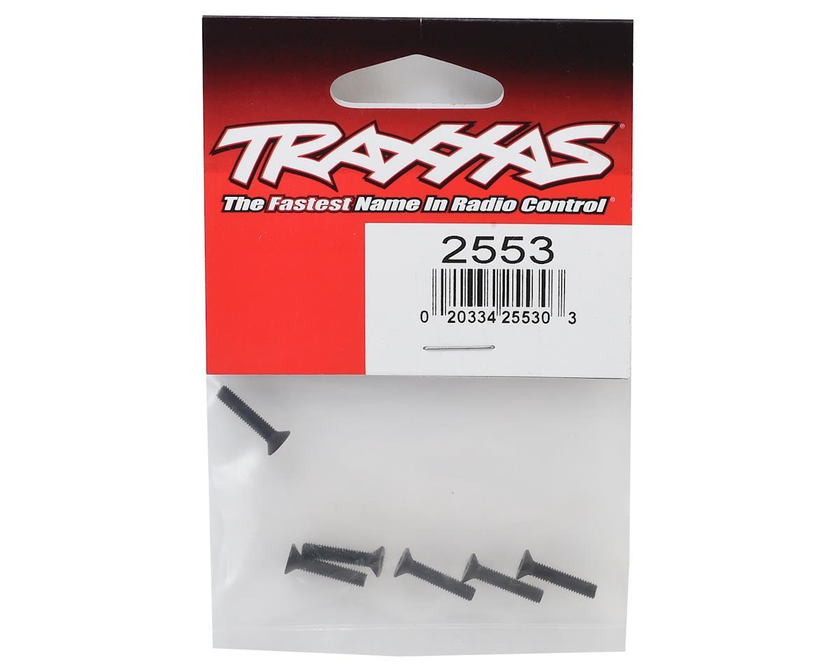 Traxxas 3X15mm Flat Head Machine Screw (6)