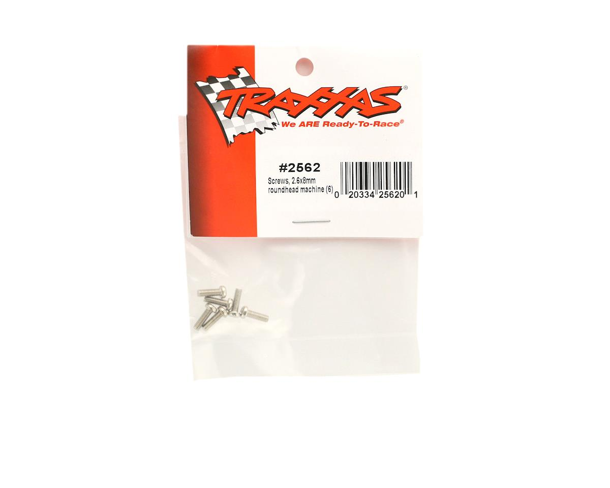 Image 2 for Traxxas Screw 2.6x8mm Button Head (6)