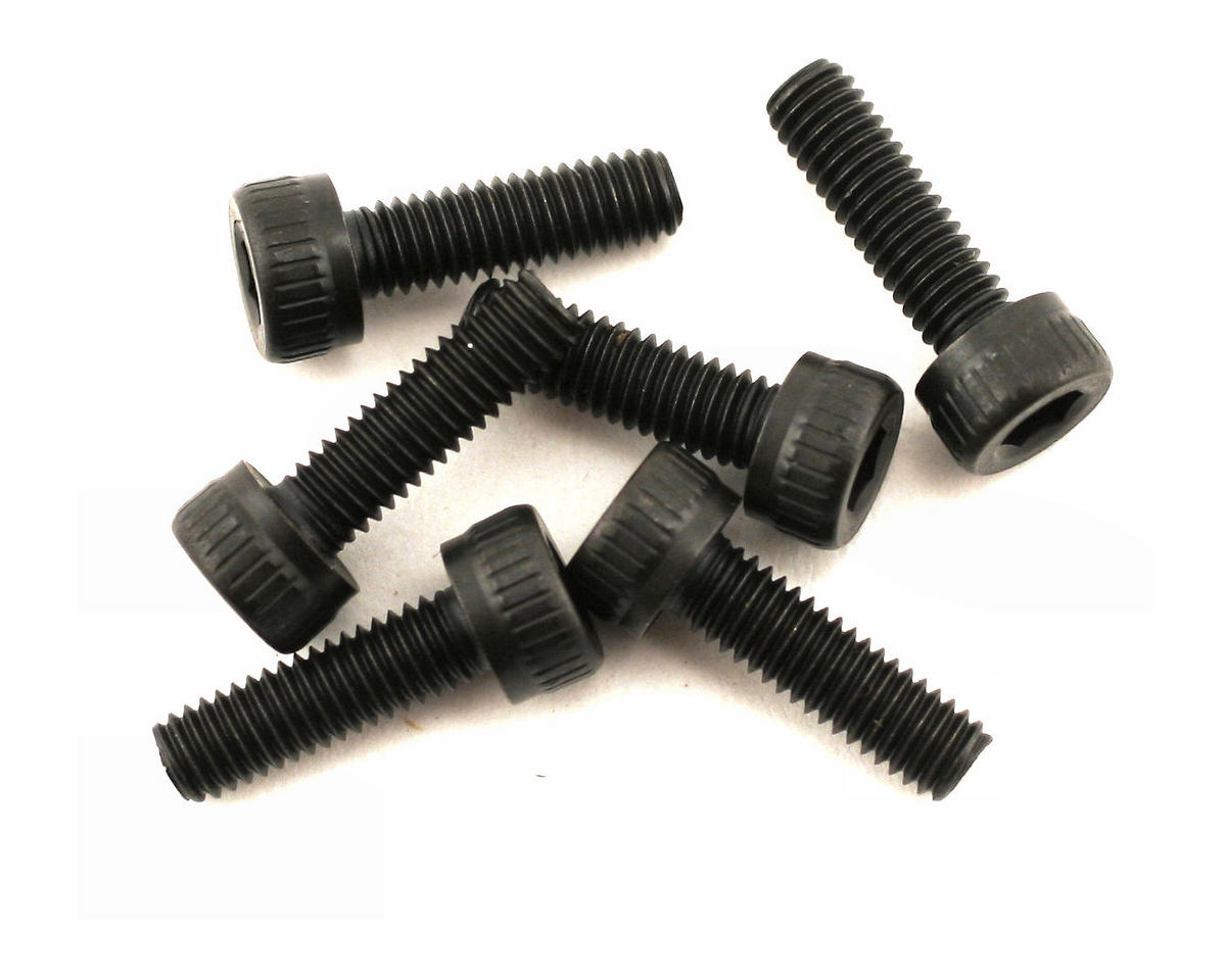 Traxxas 3x10mm Cap Head Machine Screws (6)