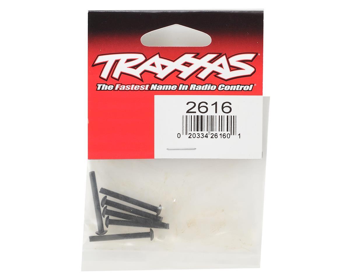 Traxxas 3x27mm Button Head Machine Hex Screws (6)