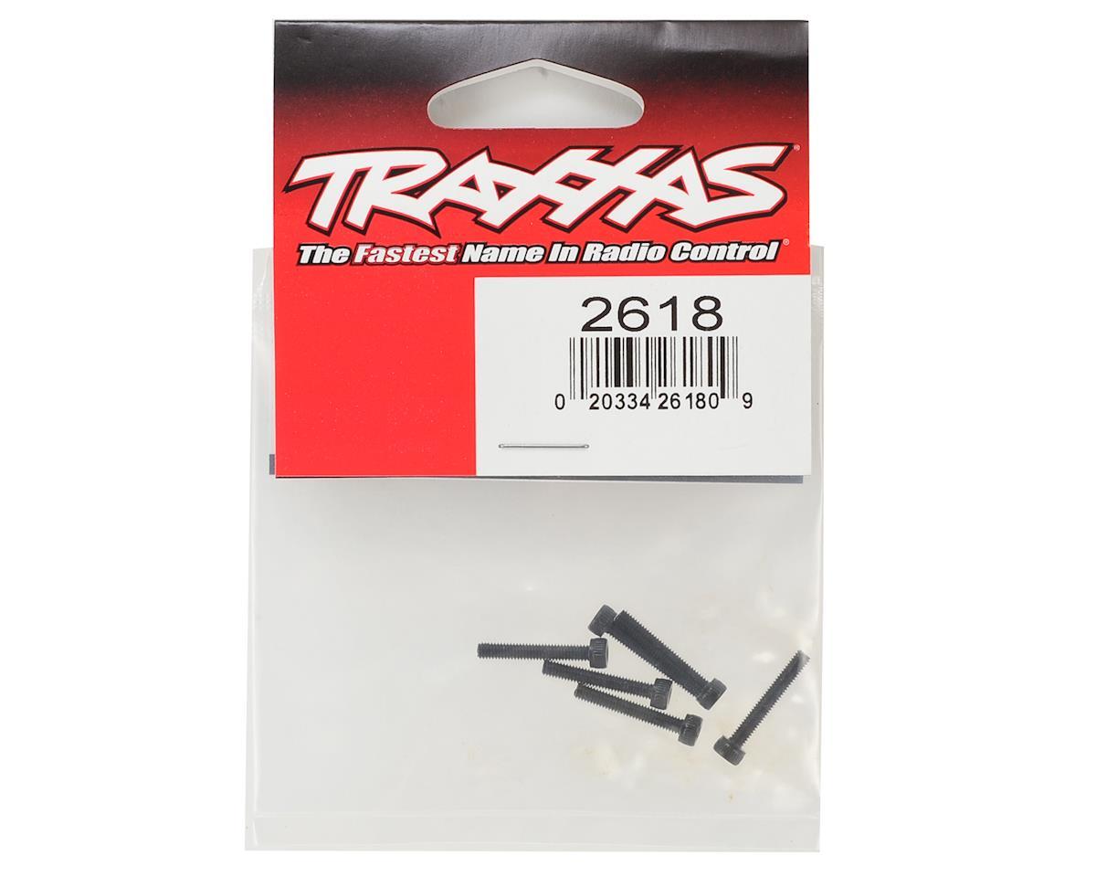 Traxxas 2.5x16mm Cap Head Machine Hex Screws (6)