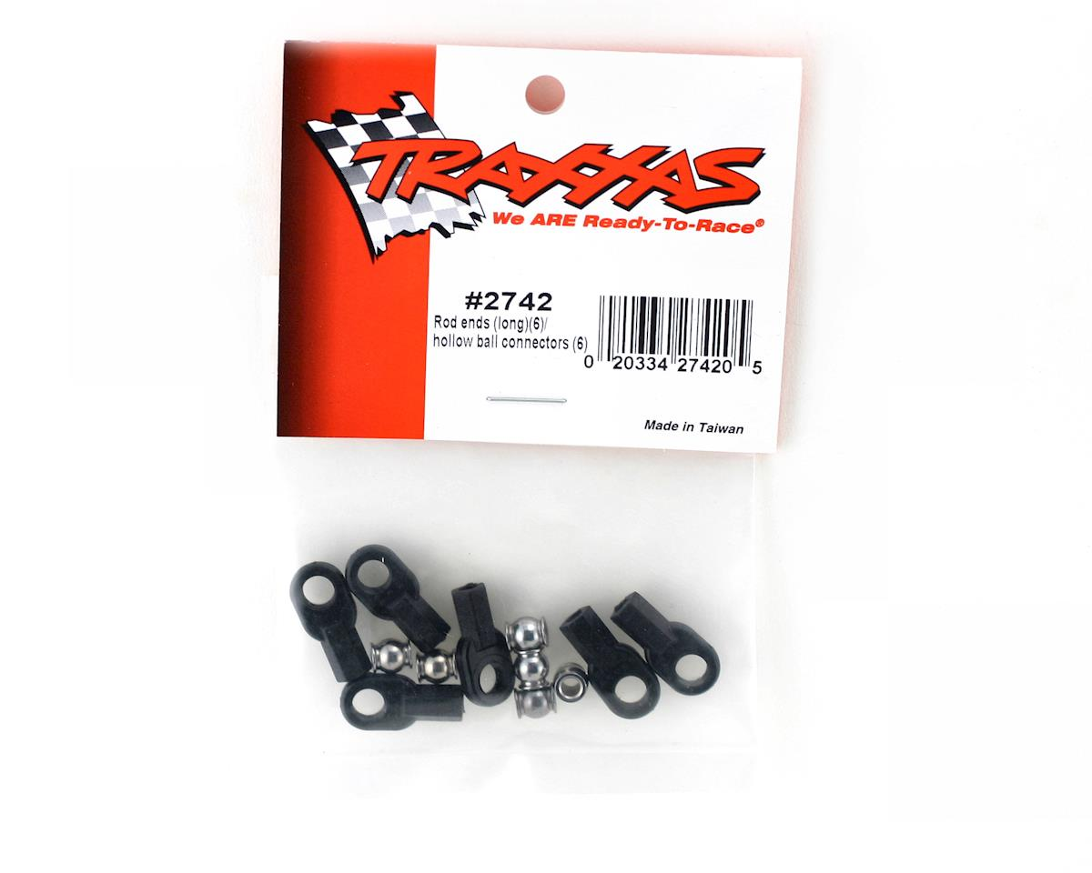 Rod End With Hollow Balls (6) by Traxxas