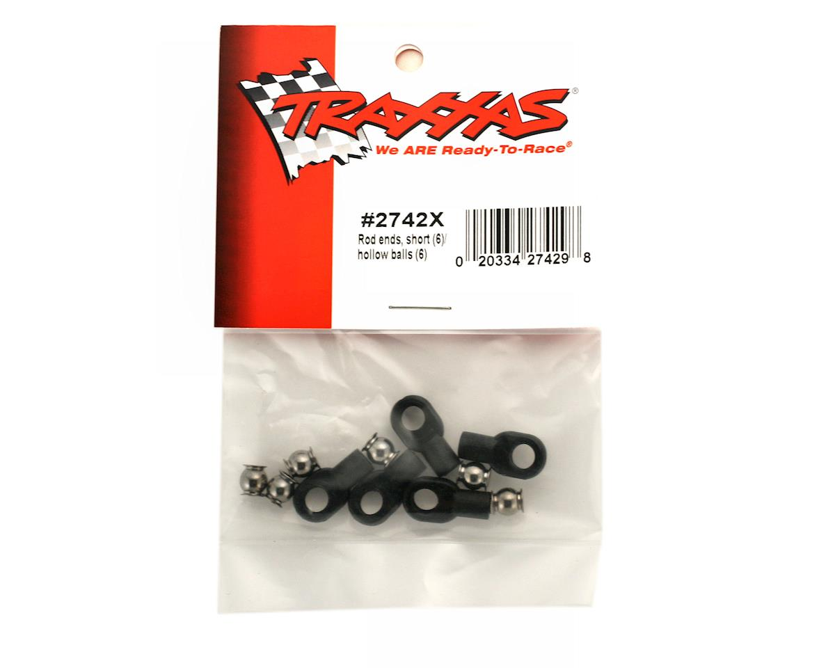 Traxxas Short Rod Ends With Hollow Balls (6)