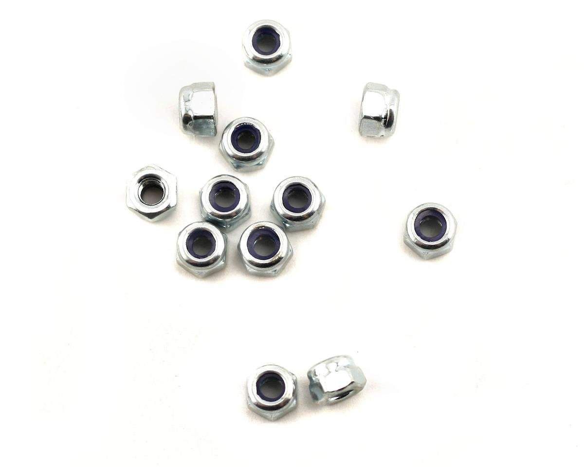 Traxxas Spartan 3mm Nylon Locknut (12)