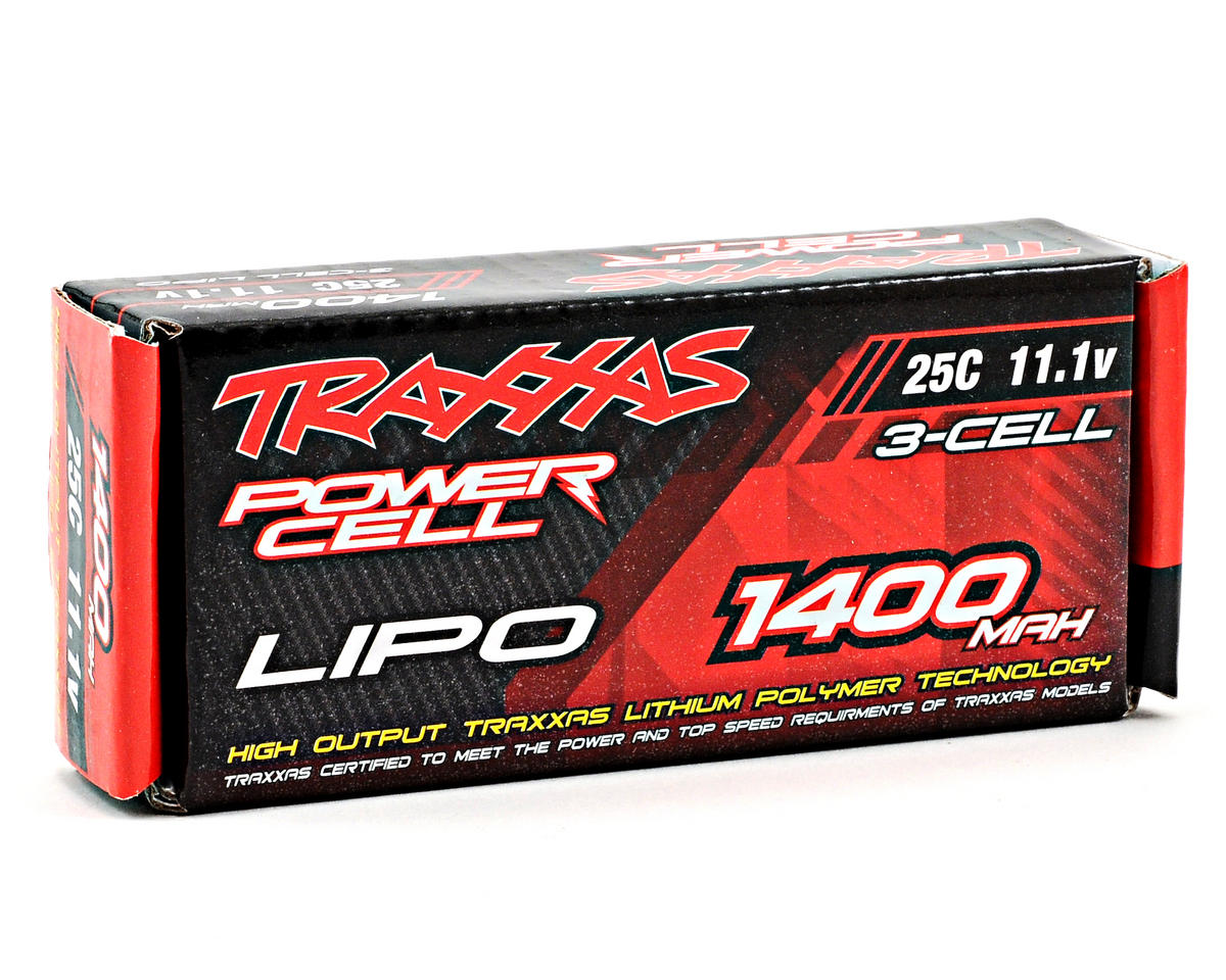 "Traxxas 3S ""Power Cell"" 25C Li-Poly Battery w/Traxxas Connector (11.1V/1400mAh)"