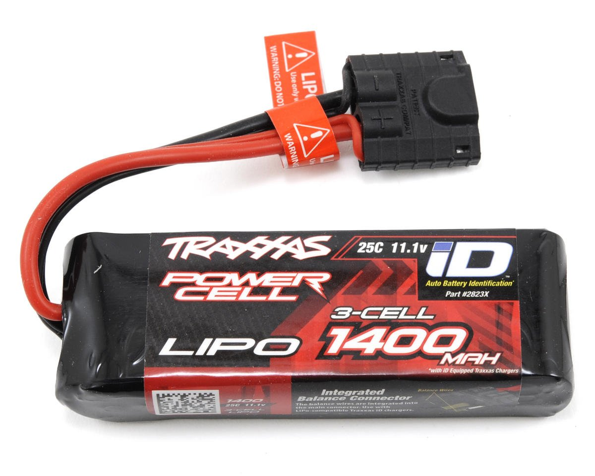 "Traxxas 1/16 Race Truck 3S ""Power Cell"" 25C LiPo Battery w/iD Connector (11.1V/1400mAh)"