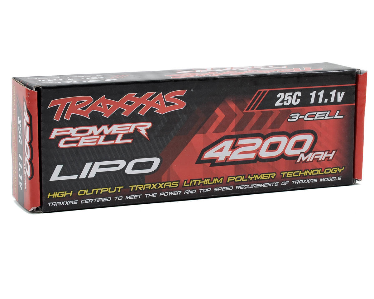 "Traxxas 3S ""Power Cell"" 25C Li-Poly Battery w/Traxxas Connector (11.1V/4200mAh)"