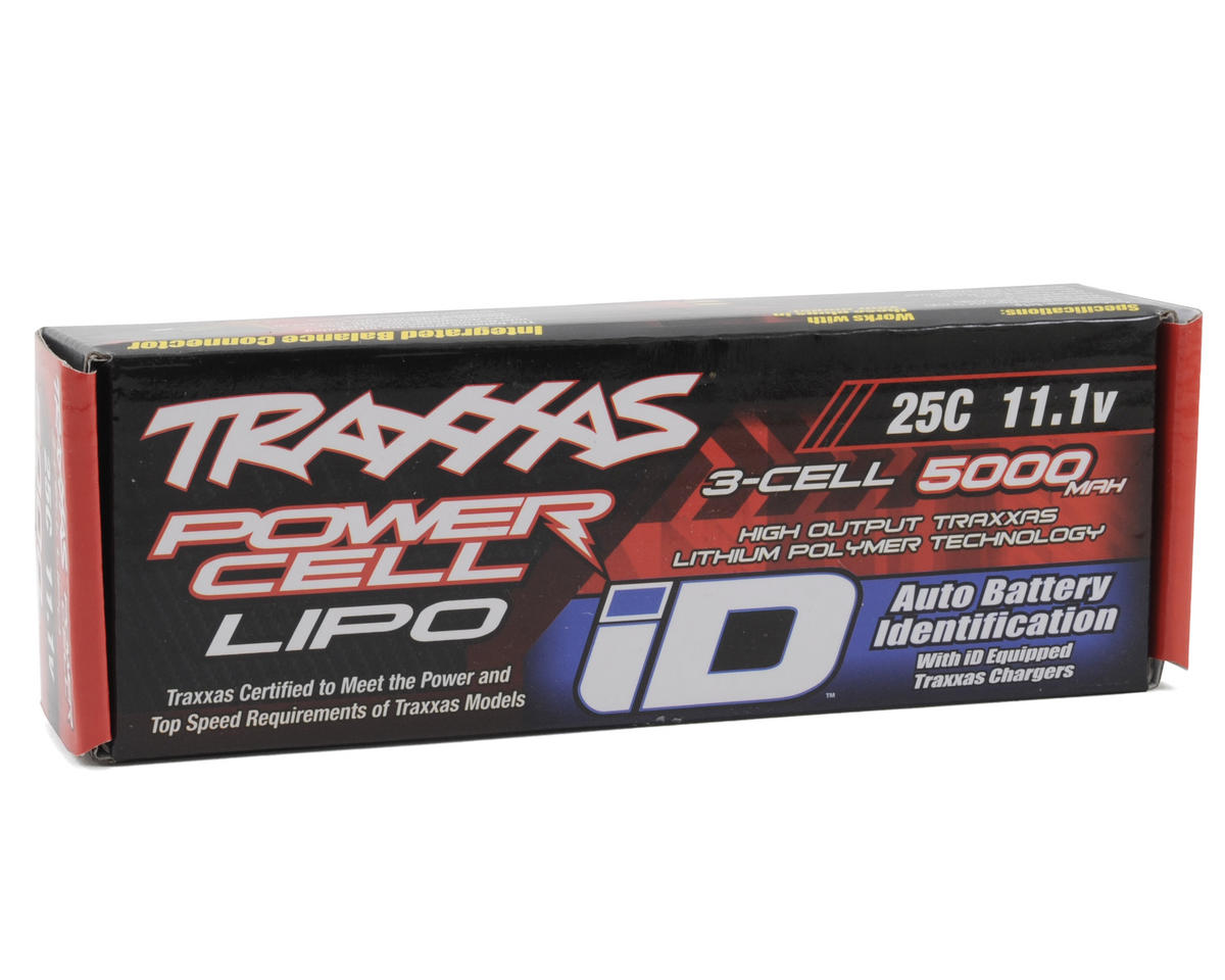 "Image 2 for Traxxas 3S ""Power Cell"" 25C LiPo Battery w/iD Traxxas Connector (11.1V/5000mAh)"