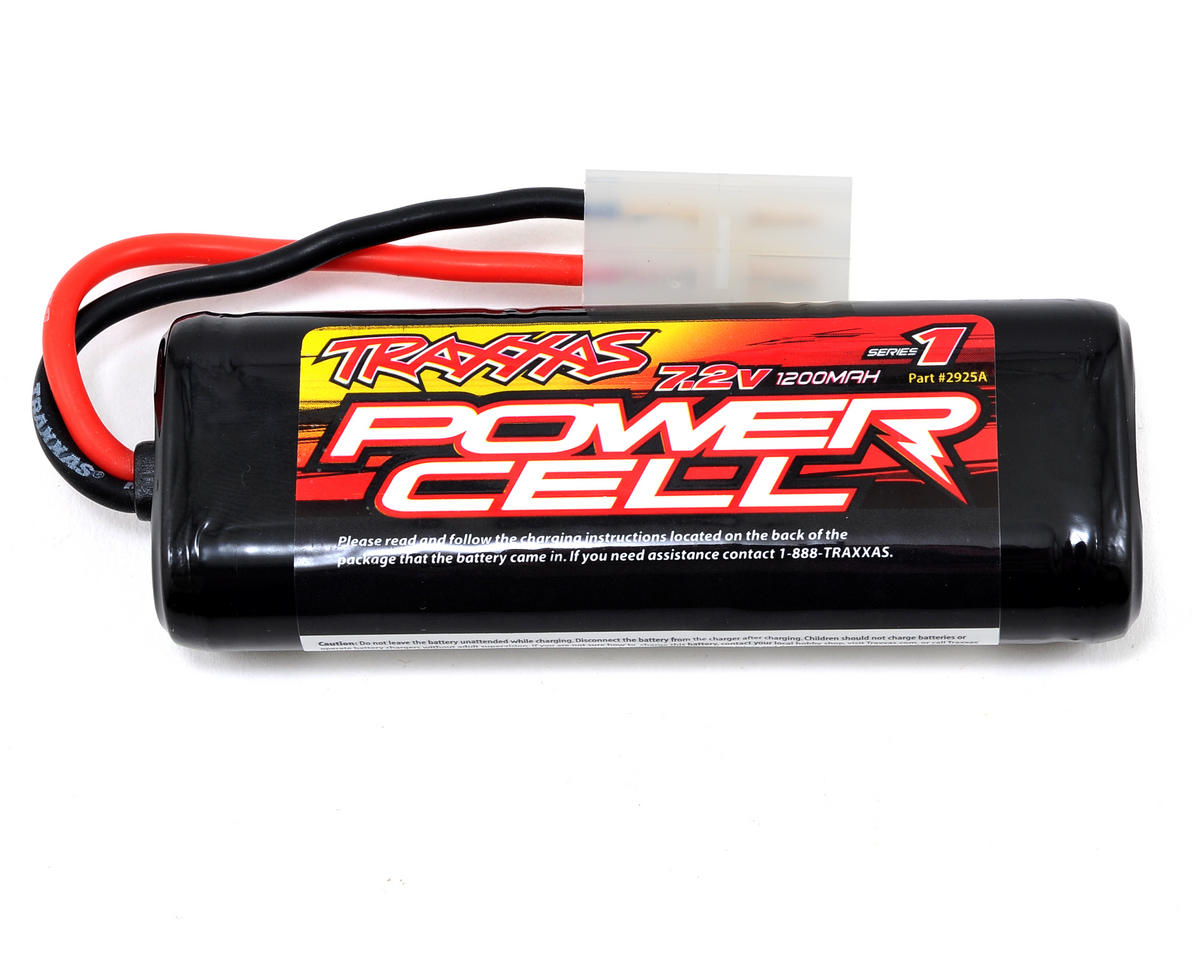 6-Cell NiMH 1/18 Scale Battery (7.2V/1200mAh) by Traxxas