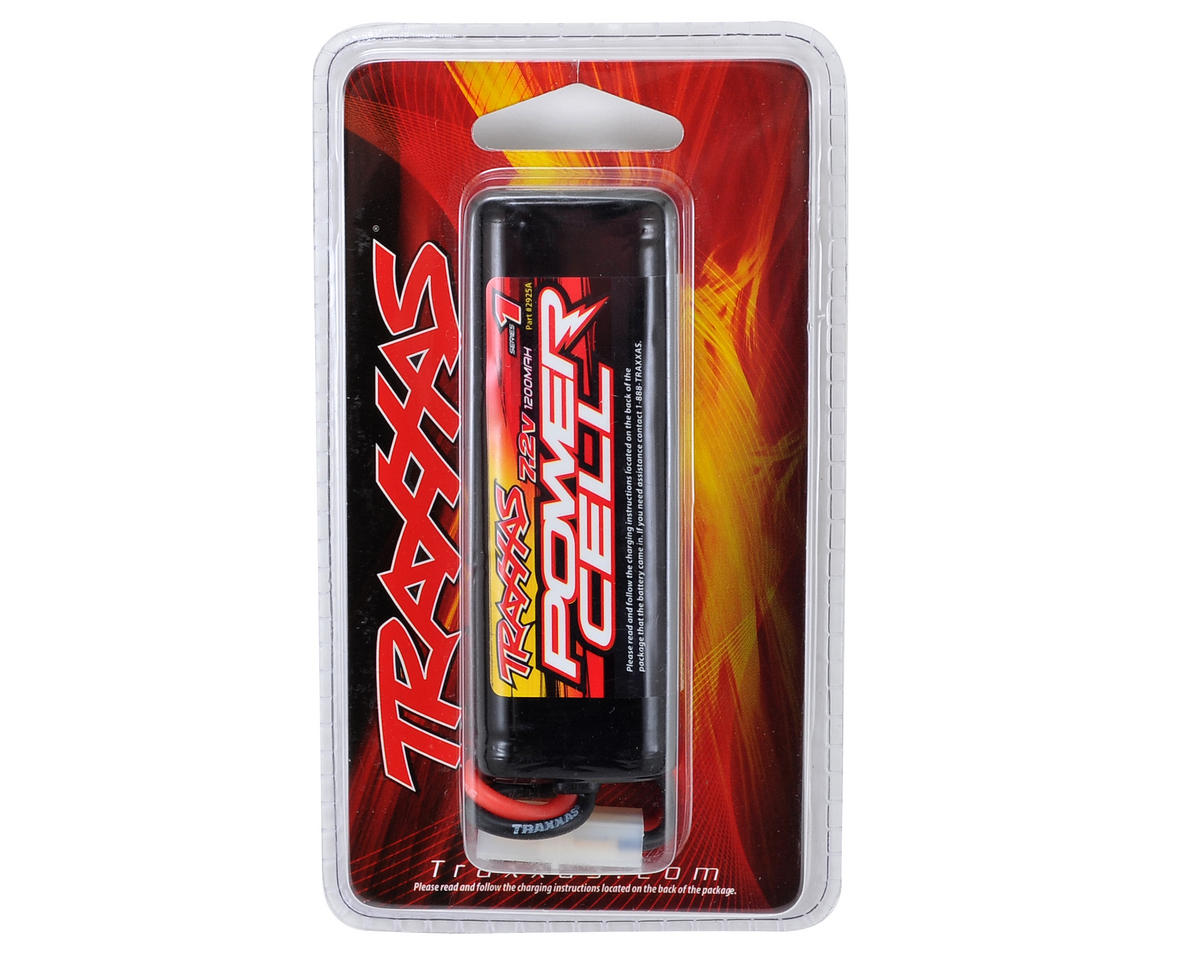 6-Cell NiMH 1/18 Scale Battery w/Tamiya Connector (7.2V/1200mAh) by Traxxas