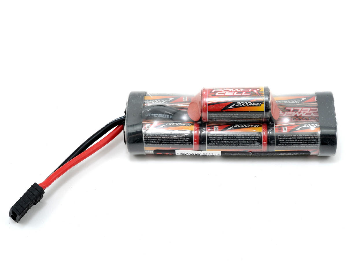 "Traxxas ""Power Cell"" 7 Cell Hump Pack w/Traxxas Connector (8.4V/3000mAh)"