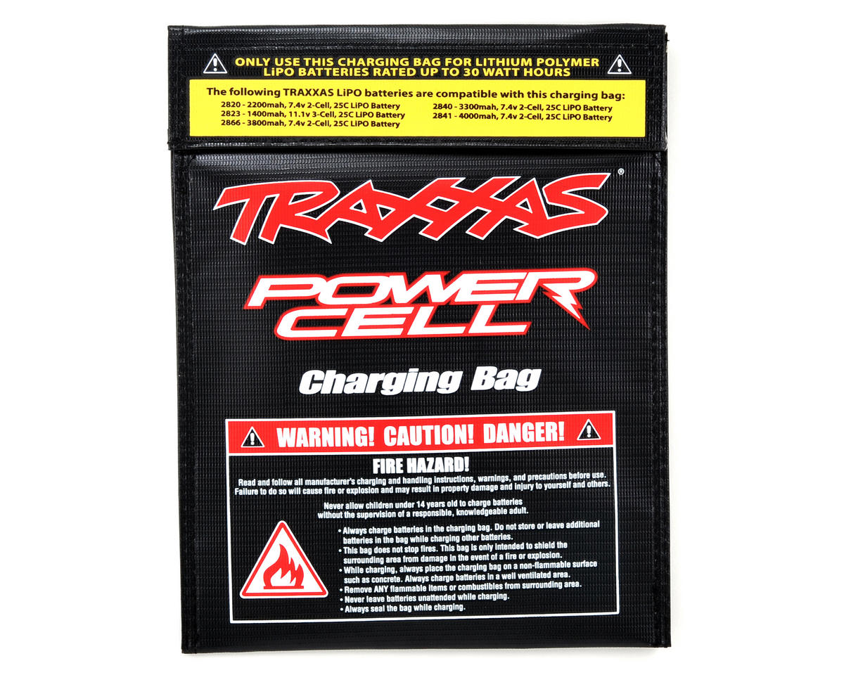 LiPo Battery Charging Bag by Traxxas