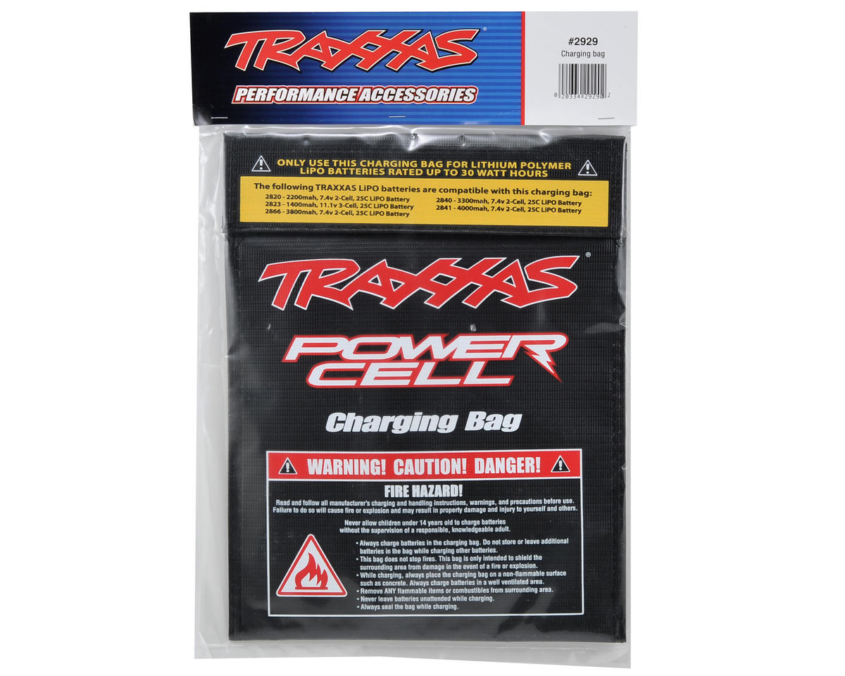 Traxxas LiPo Battery Charging Bag