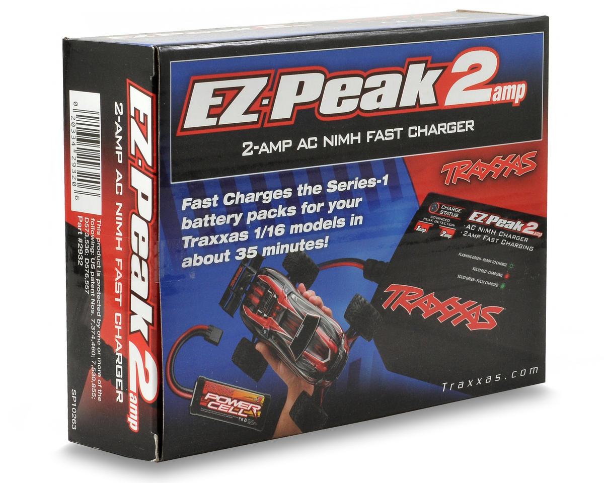 Traxxas EZ-Peak 2-Amp NiMH/NiCd Battery Charger