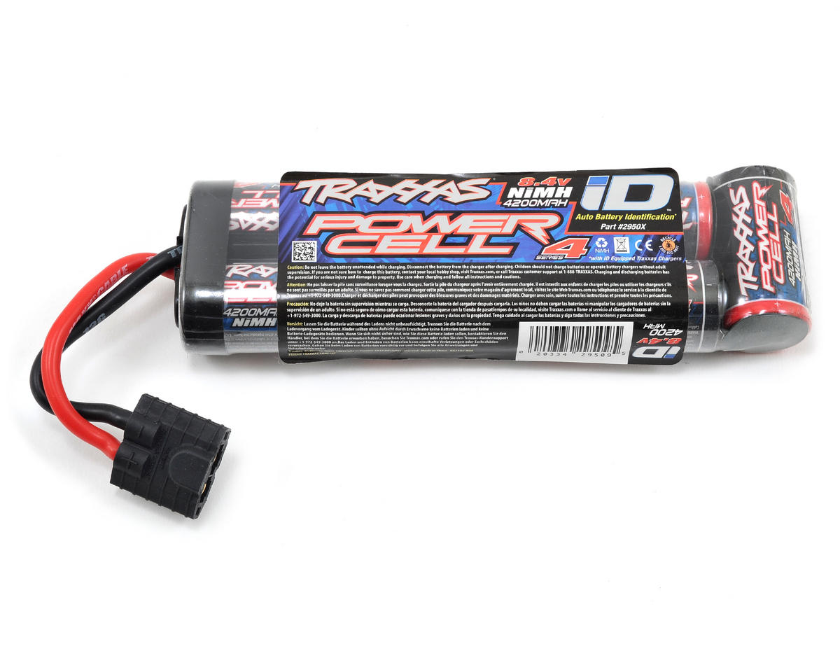 Traxxas 4-Tec 2.0 Series 4 7-Cell Stick NiMH Battery Pack w/iD Connector (8.4V/4200mAh)