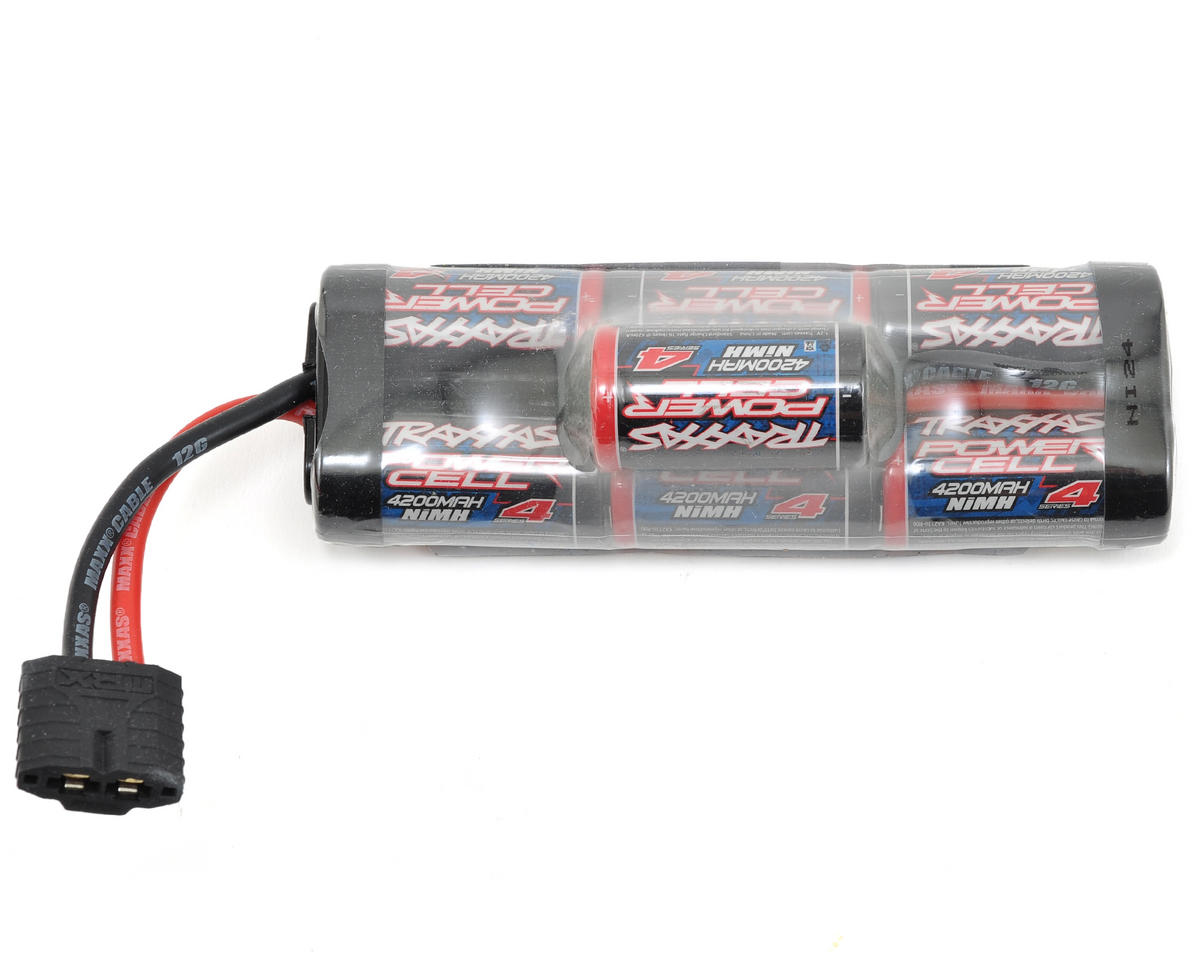 "Traxxas Stampede 4x4 ""Series 4"" 7 Cell Hump Pack w/iD Connector (8.4V/4200mAh)"