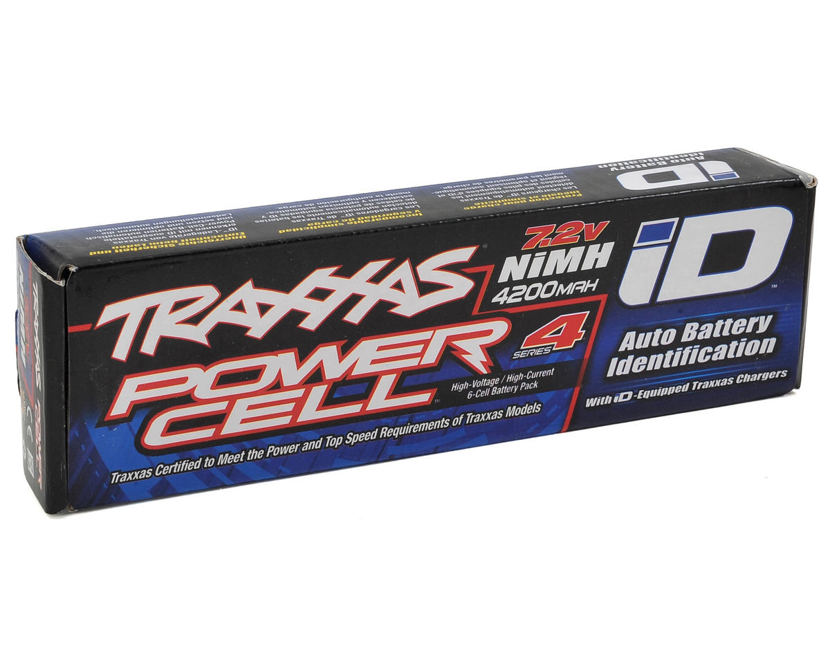 Traxxas Series 4 6-Cell Flat NiMH Battery Pack w/iD Connector (7.2V/4200mAh)