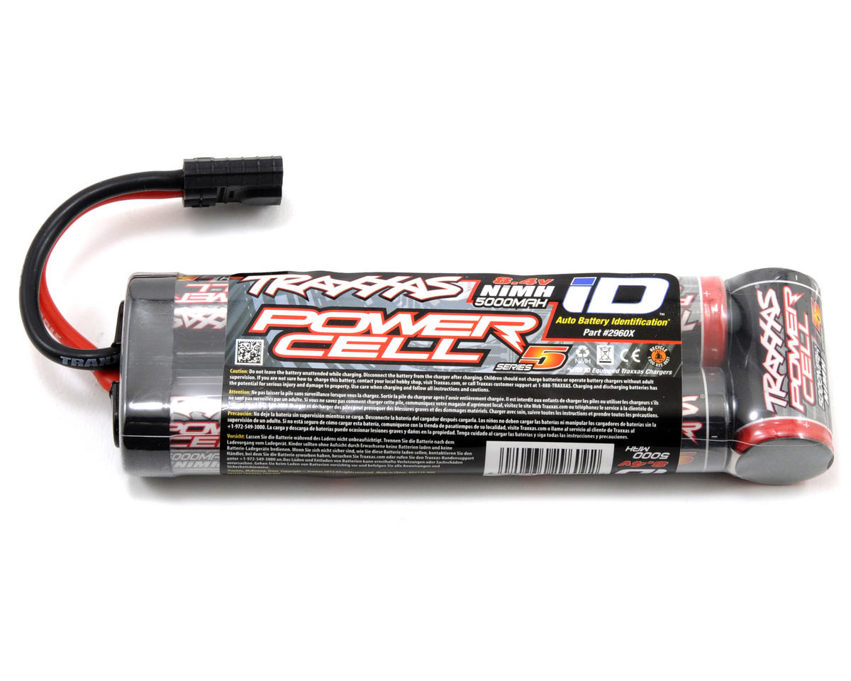 Series 5 7-Cell Stick NiMH Battery Pack w/iD Connector (8.4V/5000mAh) by Traxxas