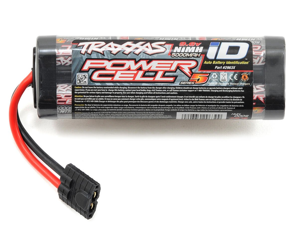"Traxxas Stampede ""Series 5"" 8-Cell Hump Pack w/iD Connector (9.6V/5000mAh)"