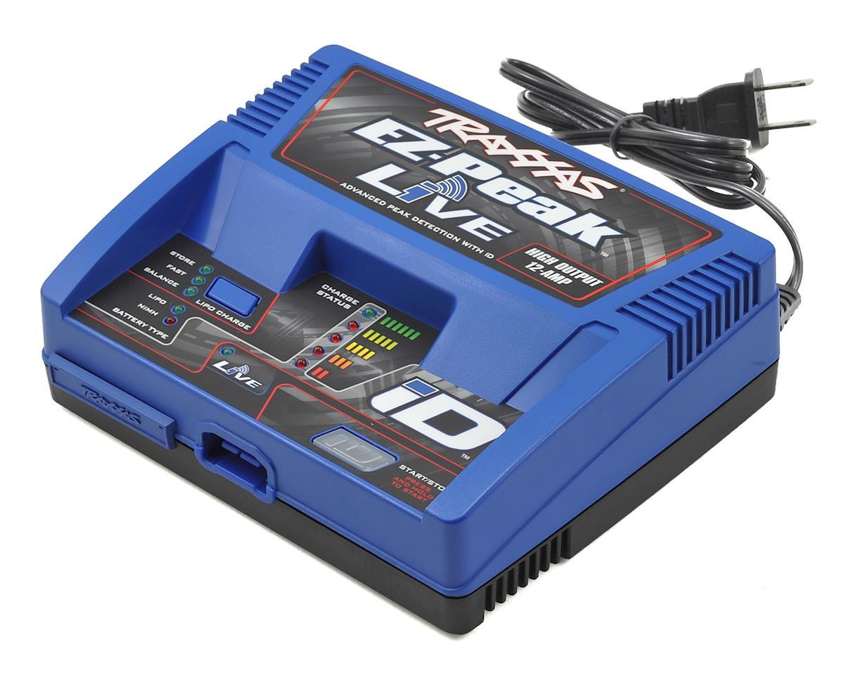 Traxxas Slash EZ-Peak Live Multi-Chemistry Battery Charger w/Auto iD (4S/12A/100W)