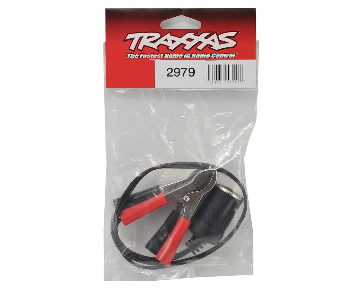 Traxxas 12-Volt Adapter (Female to Alligator Clips)