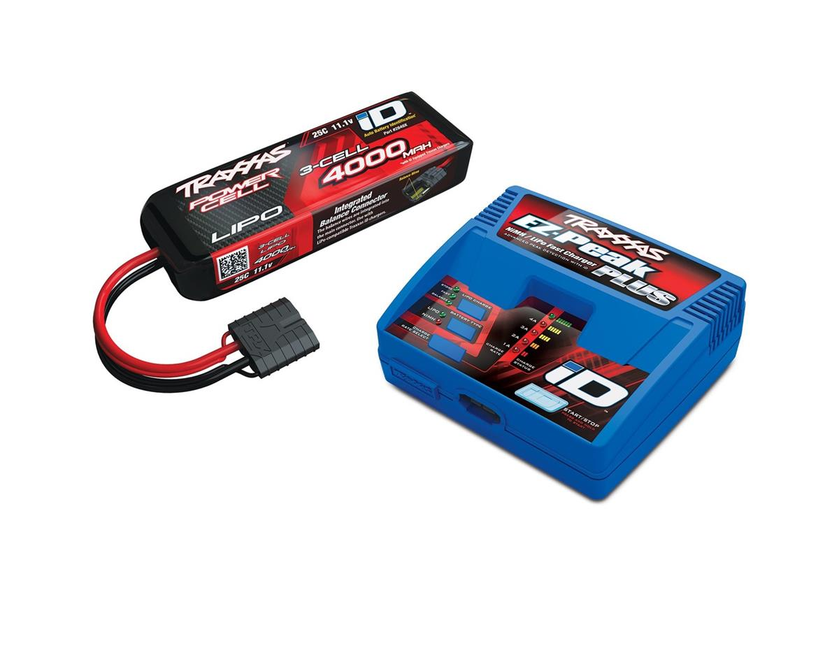 "Traxxas Rustler 4x4 EZ-Peak 3S Single ""Completer Pack"" Multi-Chemistry Battery Charger"